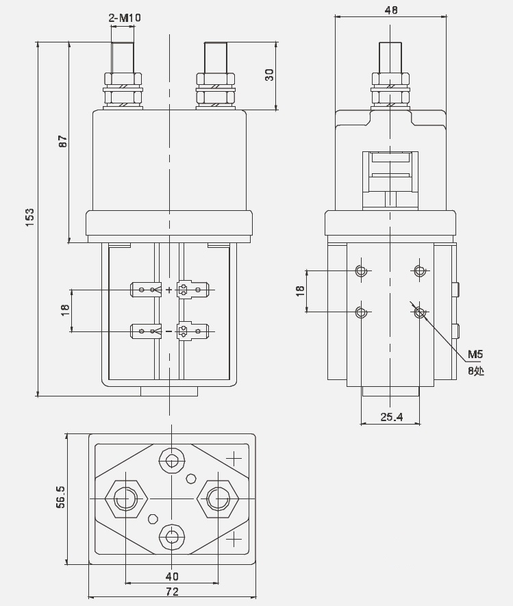 contactor schematic symbol