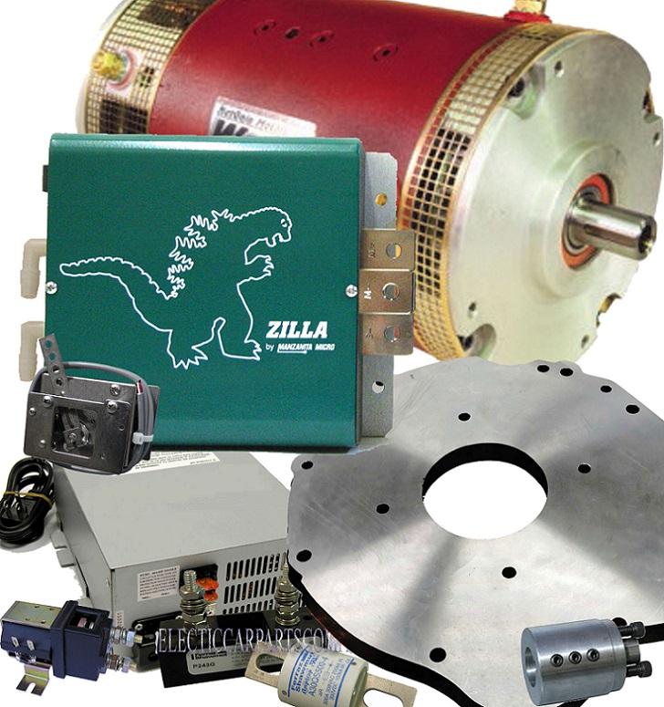 1000a Warp 9 Dc Motor Ev Conversion Kit