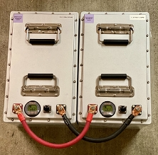 Preferred Paralleling Cabling Assemblies for LiFePO4 Lithium Battery Packs ($45 a set)